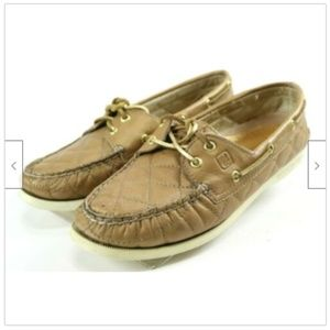 Sperry Top Sider 2 Eye Womens Boat Shoes Size 7
